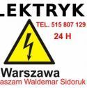 Elektryk 24h Warszawa - Waldemar Sidoruk Warszawa i okolice