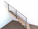 Projekt nowoczesnej balustrady schodowej