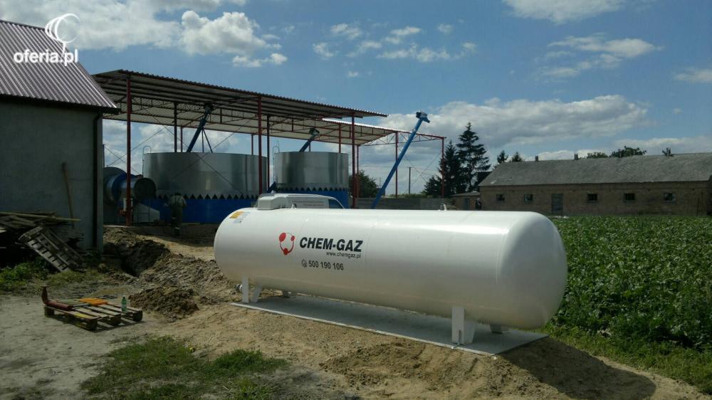 Góra ZBIORNIK NA GAZ 2700l, BUTLA NA GAZ PROPAN,LPG - CHEM-GAZ Sp. z UV06