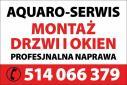 Montaż Sprzedaż Naprawa Stolarki Budowlanej - AQUARO-SERWIS Łódź