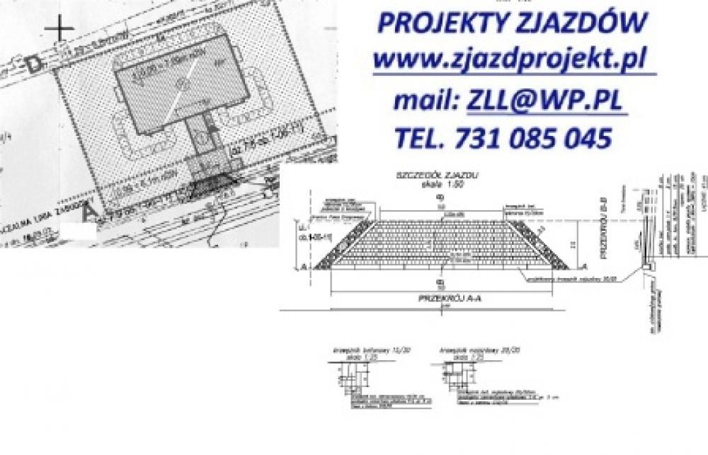 Ukochany Projekt zjazdu, wjazdu, parkingu, chodnika • Oferia.pl RQ-97
