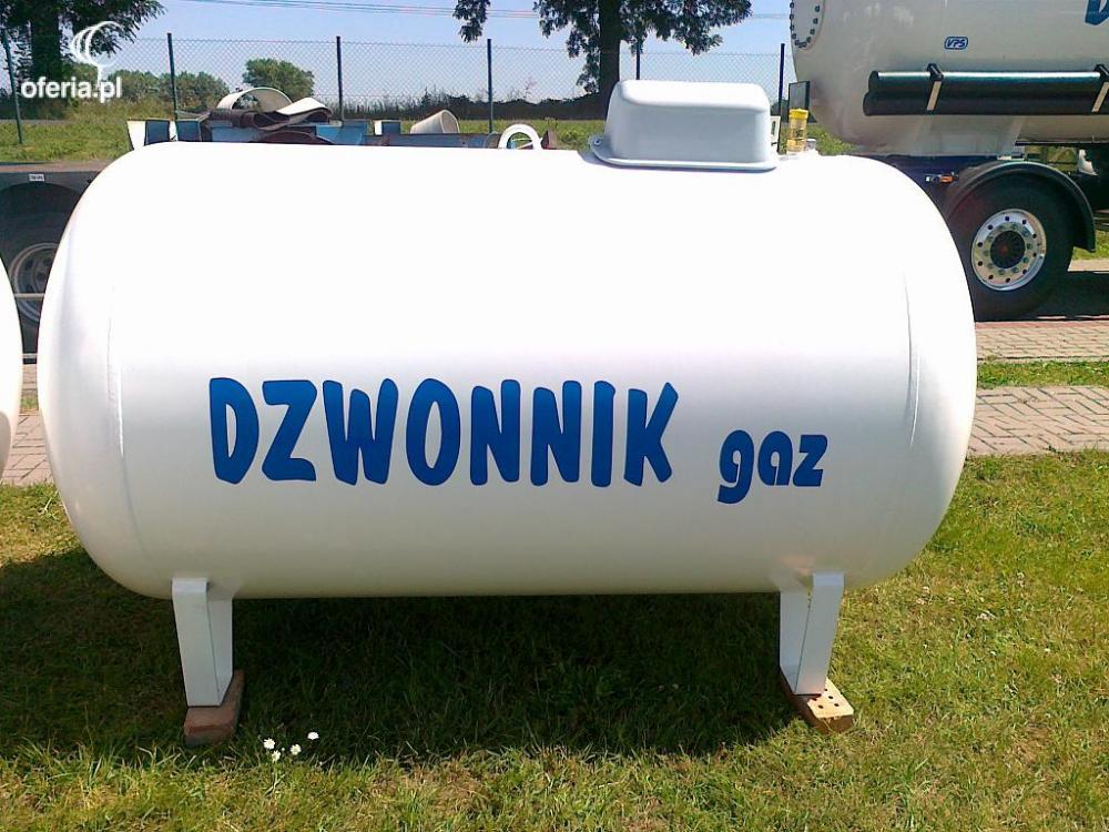 Groovy Zbiornik 2700 l na gaz płynny, propan dostawy - Dystrybucja Gazu AS35