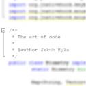 The art of code - Jakub Hyła Kocmyrzow i okolice