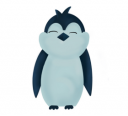 Pingwin Mayk - nasza firmowa maskotka