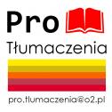 We're the Best ! - Pro Tłumaczenia Pro.tlumaczenia@o2.pl Katowice i okolice