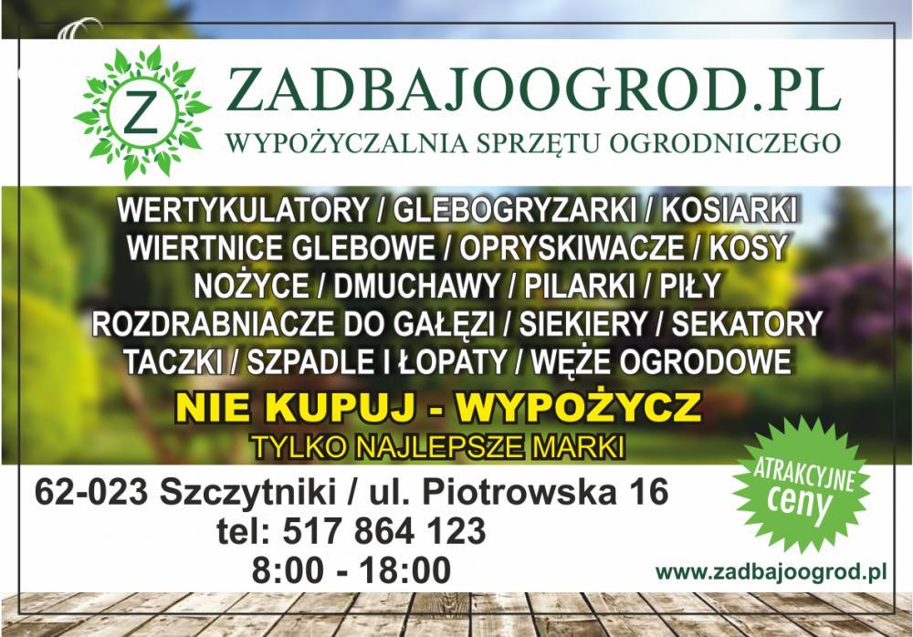 Aktualne Zadbajoogrod.pl F.H.U Caregarden Szczytniki i okolice • Oferia.pl QA74