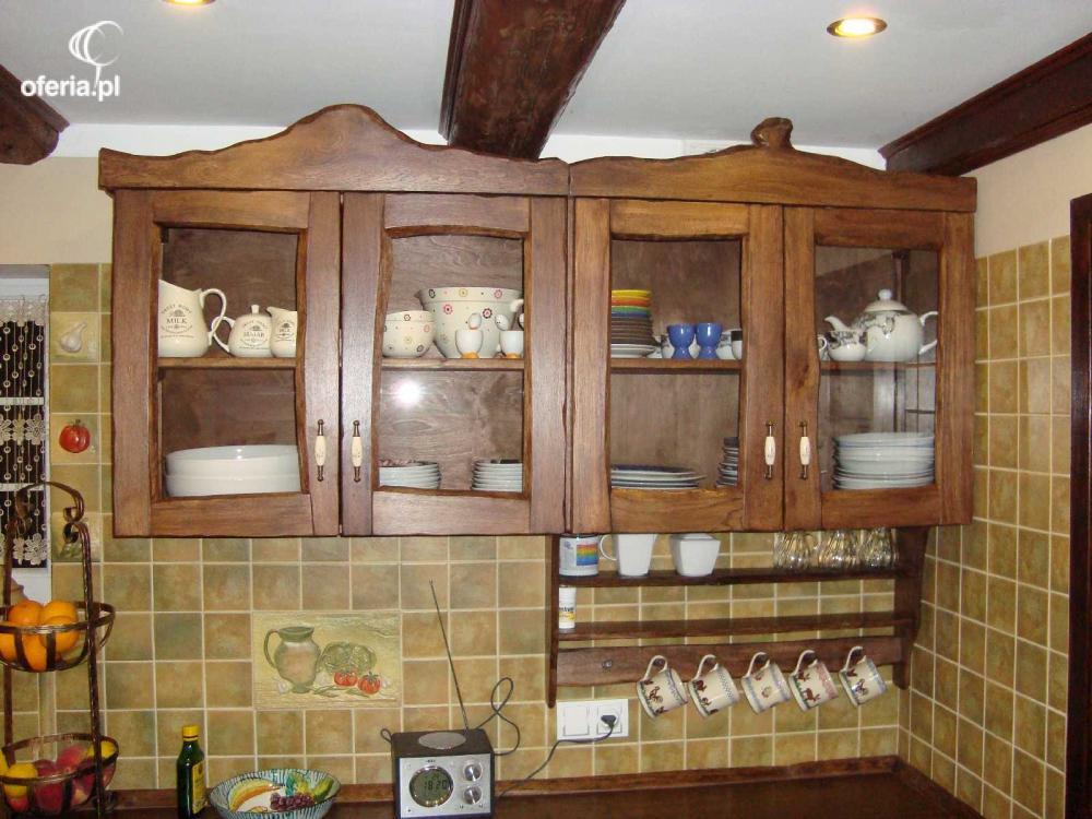 Meble kuchenne rustykalne drewniane Kowary • Oferia pl -> Kuchnie Rustykalne Bialystok