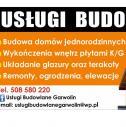 USŁUGI BUDOWLANE GARWOLIN - Daniel Przybysz Garwolin i okolice