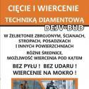 Cięcie i Wiercenie beton - DEJV-BUD Uniejów i okolice