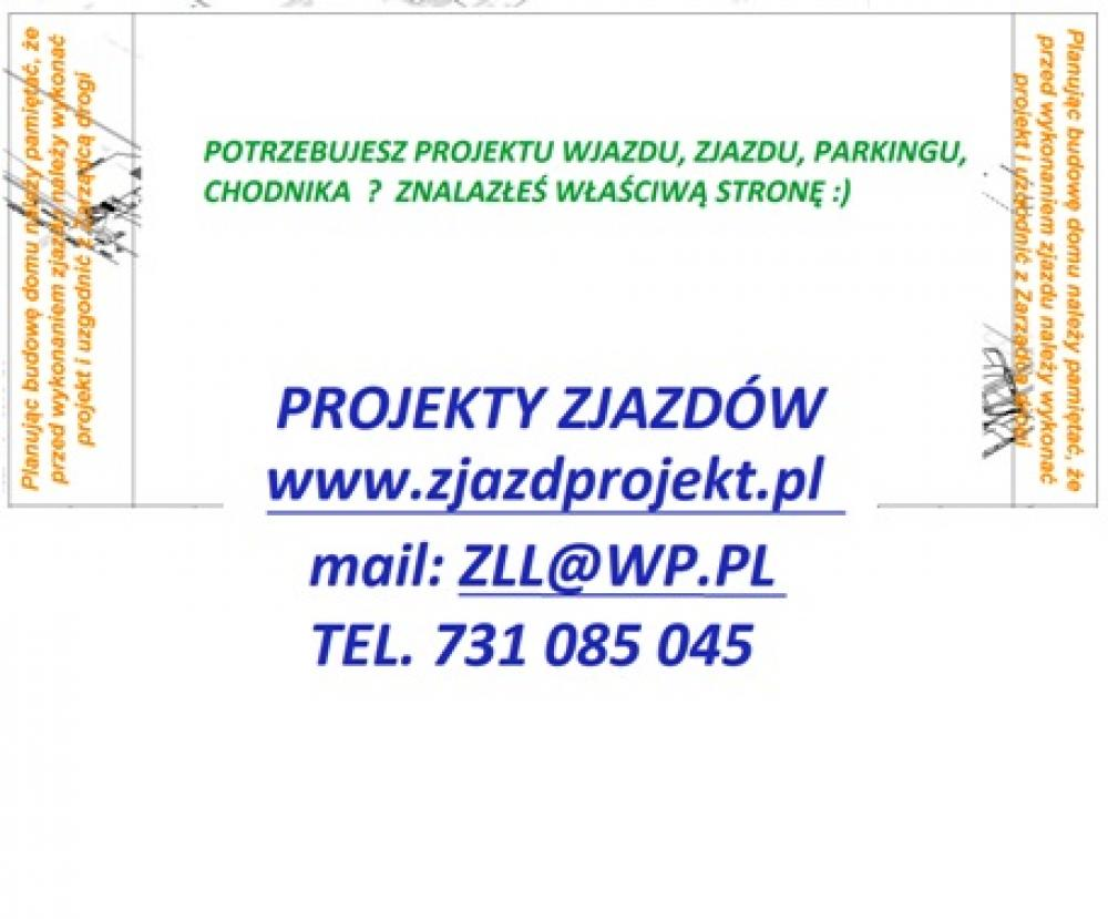 Wspólne Projekt zjazdu, wjazdu, parkingu, chodnika • Oferia.pl @LE-86
