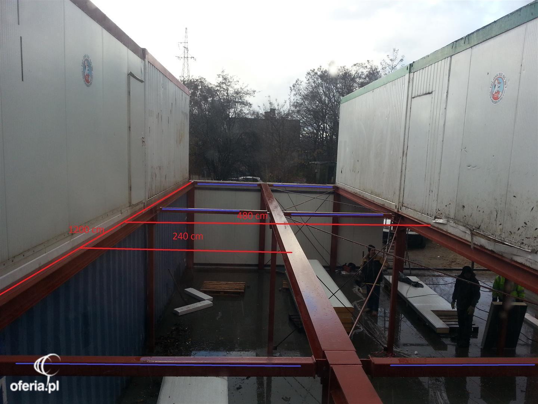 Bardzo dobry Wykonanie podłogi - konstrukcji stalowej wraz z montażem płyt osb WG82