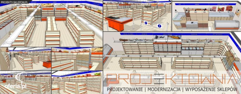 Projektowanie sklepów - Projektownia Gdynia i okolice • Oferia.pl