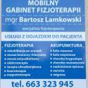 Mobilny Gabinet Fizjoterapii Bartosz Lamkowski Kluczbork i okolice
